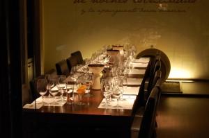 Sala de Degustação anexa ao Wine Shop