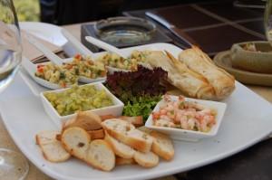 """Prato do restaurante """"O Tanino"""": diversas possibilidades de compatibilização enogastronomica"""
