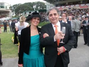 Nelson Fontella e esposa