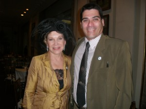 A ex-prefeita Marta Suplicy e Jeriel